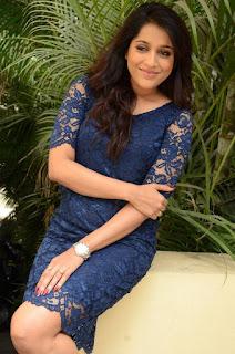 Actress Rashmi Gautam Pictures in Short Dress at tur Talkies Movie Interview 0018