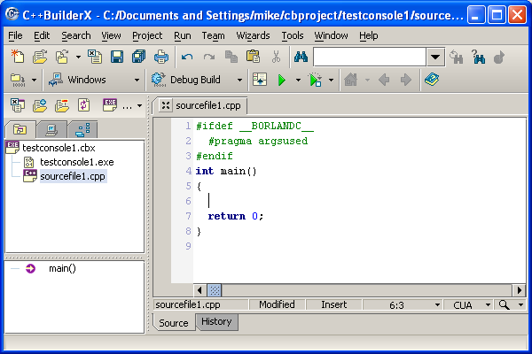 Contoh Program Data Base dengan fungsi Perekaman BORLAND C++
