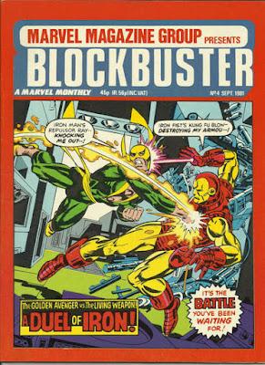 Blockbuster #4, Iron Fist vs Iron Man