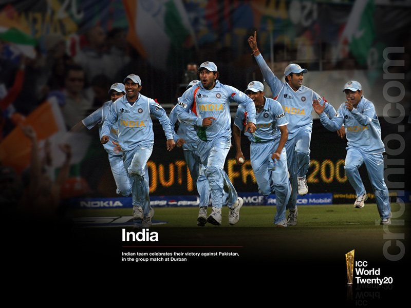 Wallpaper Team India National Cricket Team Indian: Icc World Cup T20 2012 : India