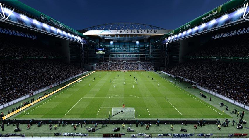 Telia Parken Stadium For eFootball PES 2021