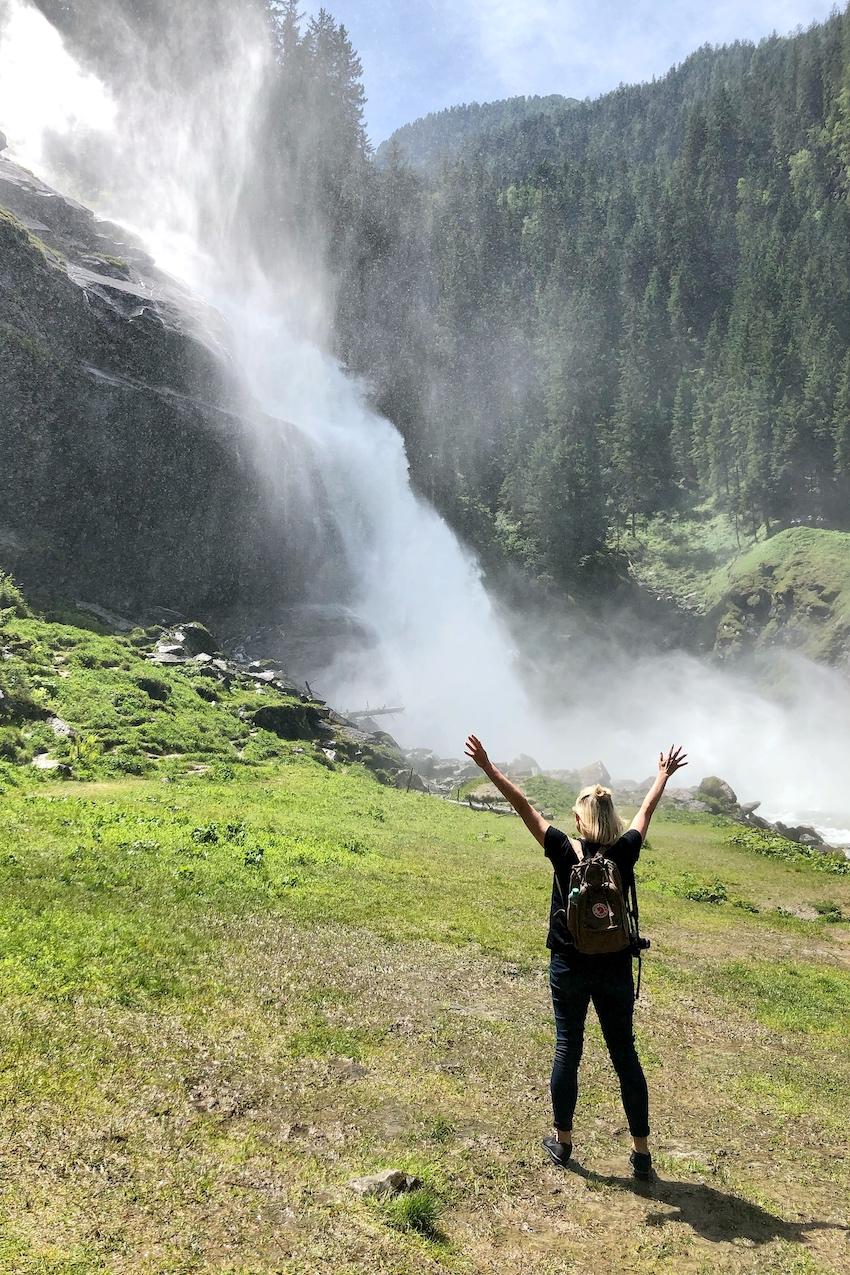 Krimmler Wasserfälle Freiheit Sonja Bruckner