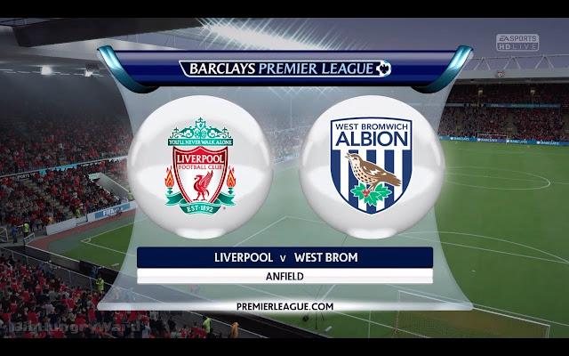 Prediksi Pertandingan Liga Inggris Liverpool vs West Bromwich