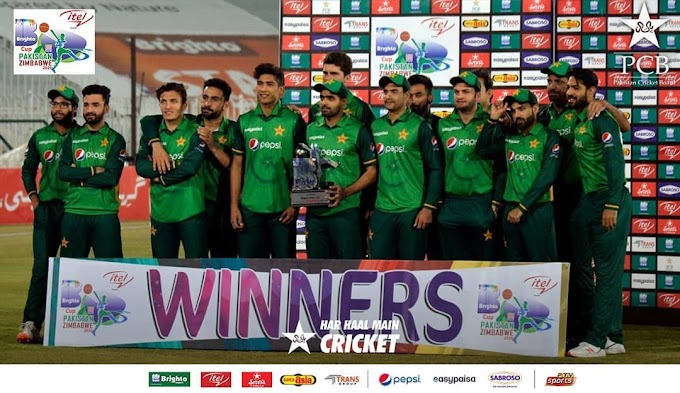 Winners of ITEL Mobile Presents Brighto Paints Cup