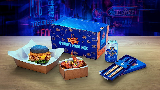UNBOX THE EXTRAORDINARY WITH TIGER With Tiger Street Food Box