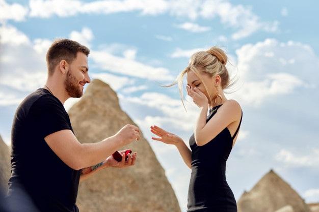 Sürpriz evlilik teklifi