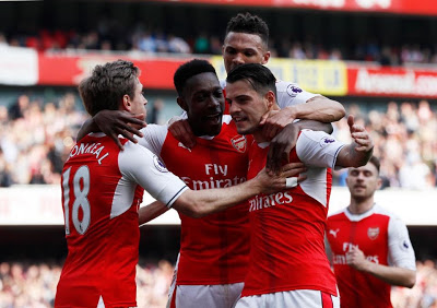 Wenger finally ends Mourinho hoodoo after Arsenal beat Man Utd in the Premier League