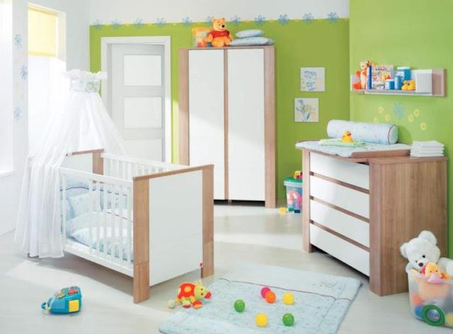 id e d co chambre b b mixte. Black Bedroom Furniture Sets. Home Design Ideas