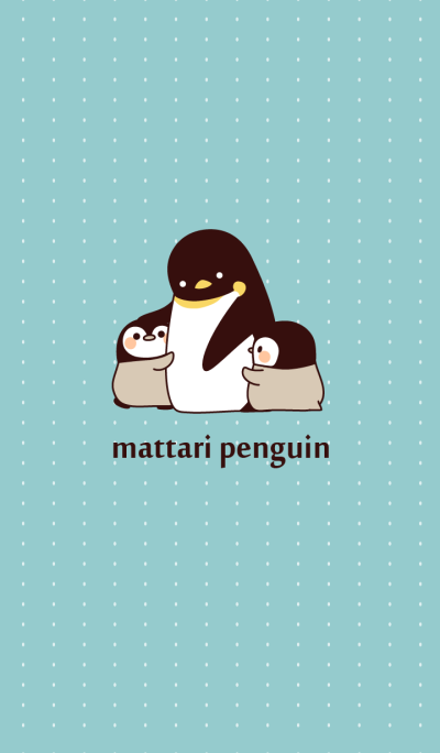 Relaxed penguin