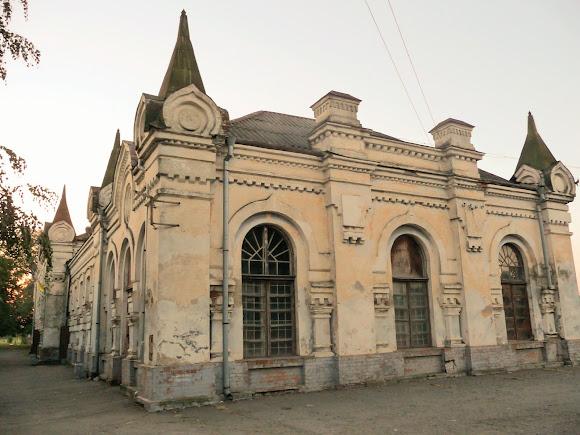 Новоселица. Железнодорожный вокзал. 1905 г.