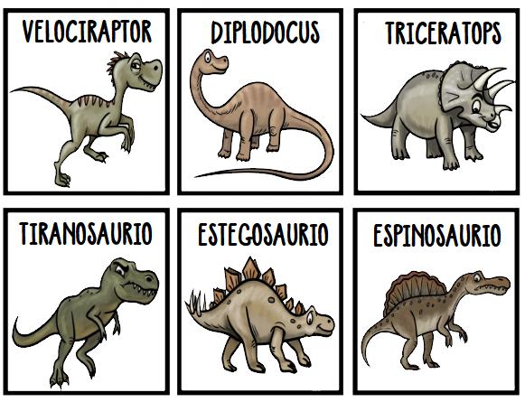 Recursos Y Actividades Para Educacion Infantil Tarjetas De Vocabulario De Los Nombres De Dinosaurios Vi Mayusculas Nombres de 10 dinosaurios recibe ahora mismo las respuestas que necesitas! tarjetas de vocabulario de los nombres