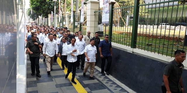 Ssstt… Inilah Kronologis Pertemuan Jokowi dan Prabowo