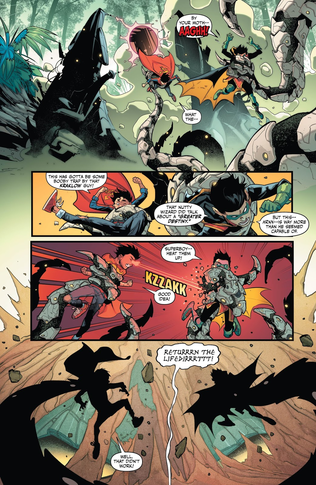 Weird Science Dc Comics Preview Super Sons 8