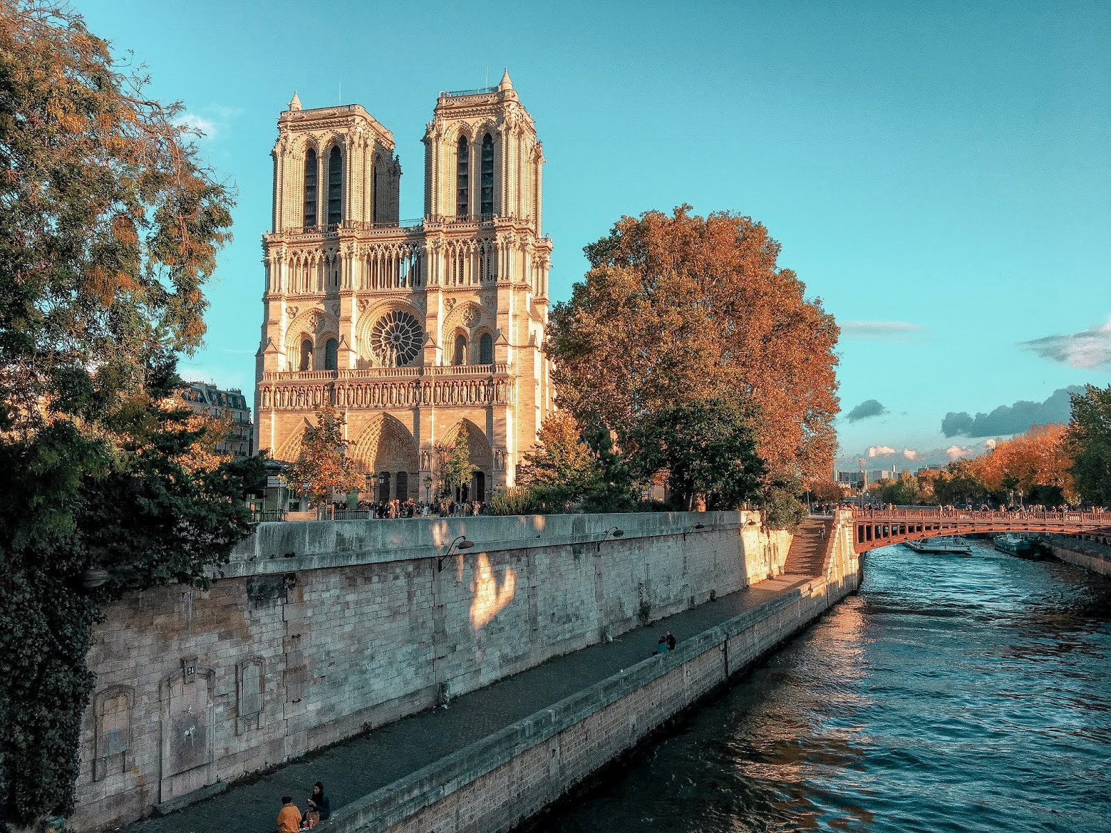 My Travel Background : au revoir Paris - Notre-Dame