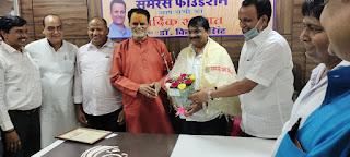 जौनपुर के ब्लाक प्रमुख गोपेश यादव का समरस फाउंडेशन ने किया सम्मान  | #NayaSaberaNetwork