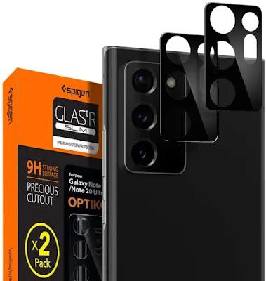 Protector de lentes de cámara para el teléfono Galaxy Note 20 Ultra