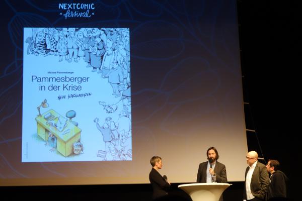 Nextcomic Festival in Linz Österreich, Eröffnung