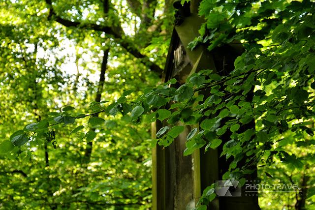 Droga krzyżowa i kościół na Wzgórzu Kaplicznym (Świętym Wzgórzu) w Lesie Osobowickim we Wrocławiu - atrakcje Wrocławia