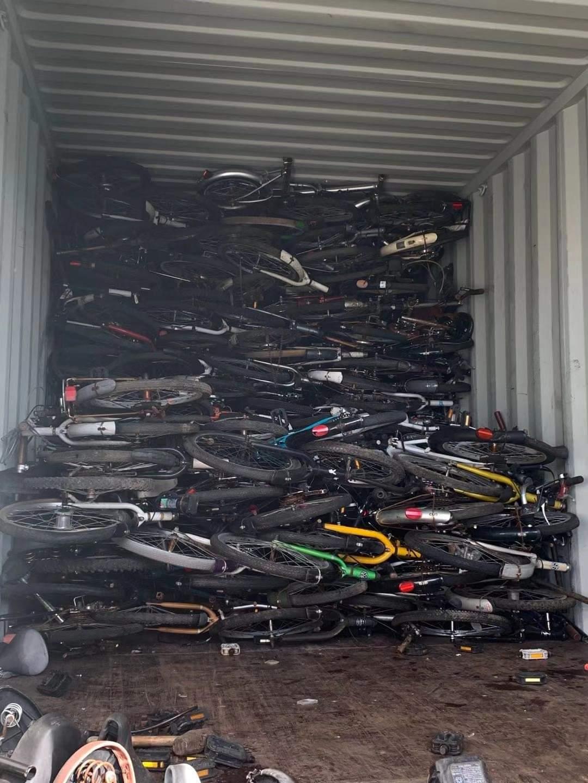 Basikal terpakai dari jepun