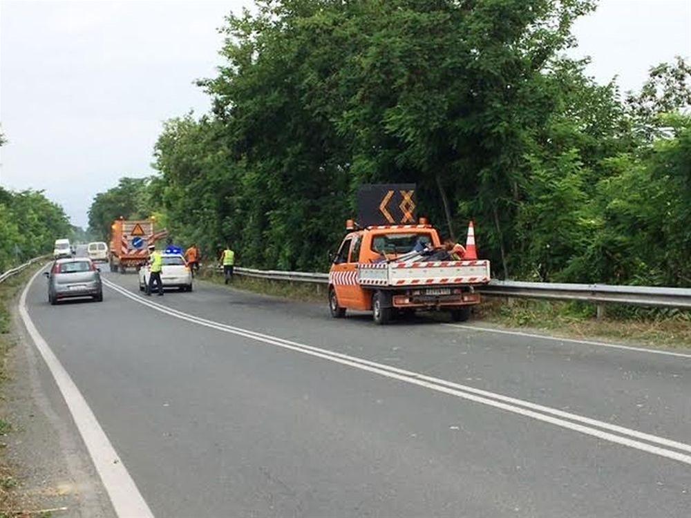 Κοπή χόρτων και καθαρισμός ερεισμάτων στο οδικό δίκτυο της Π.Ε. Μαγνησίας
