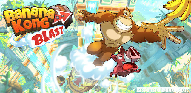 Banana Kong Blast APK Unlimited Lives