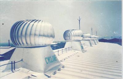 Cyclone Turbin Ventilator