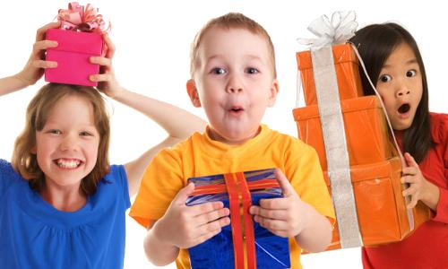 çocuklar için hediye