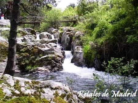 Piscinas en madrid en plena naturaleza for La isla rascafria piscina natural