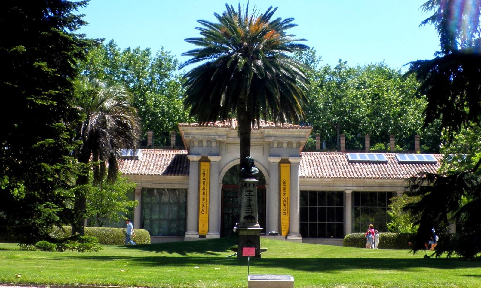 Pabellón de Villanueva en el Botánico de Madrid