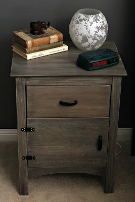 Nightstand - cerusing furniture