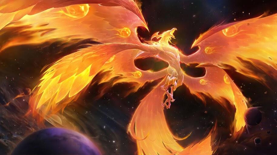 The Immortal Fire, Targon, Legends of Runeterra, 4K, #5.2752