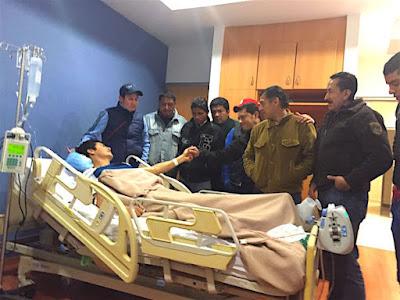 torero cogido recibe visitas en hospital