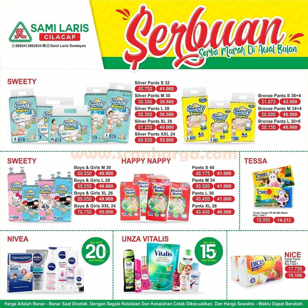 Katalog Sami Laris Swalayan Promo Serbuan Periode 1 - 15 Oktober 2020