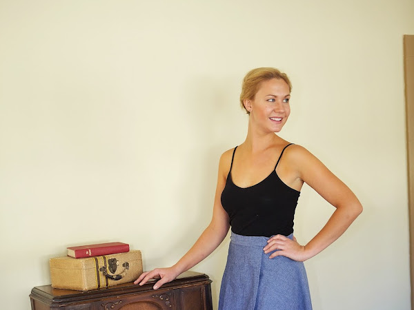 Why I Love Wrap Skirts - Three Variations in Three Different Fabrics