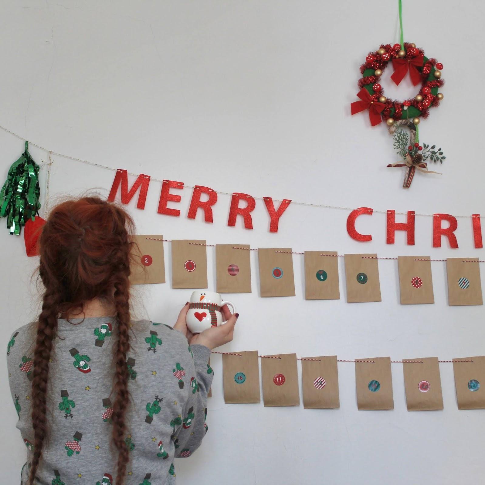 Calendario Dellavvento Pinterest.The World Of Claire Hello December Calendario Dell Avvento