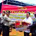 Polda Maluku Terus Berikan Bansos Untuk Korban Gempa