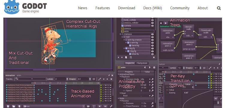 Godot El Motor Open Source Para Juegos 2d Y 3d Que Compite Con