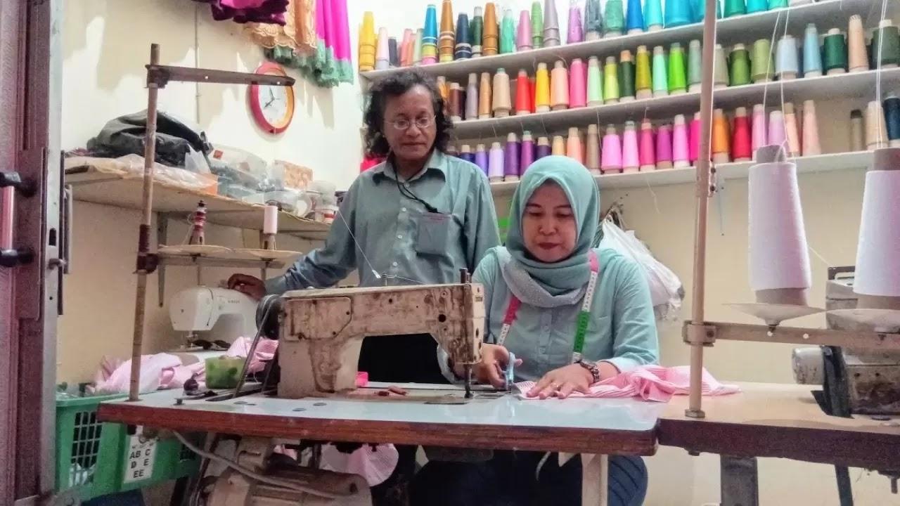 Usaha Gigih Keluarga Penjahit dari Ciwaduk