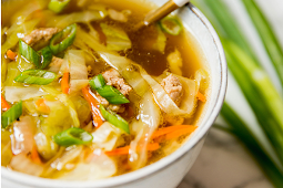 Paleo Egg Roll Soup #Recipe #healthy