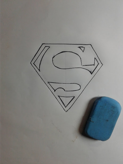 How to Draw a Superman Logo 3D