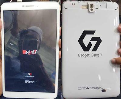 Gadget Gang 7 G8 Flash File