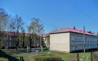 Лисівка. Покровський р-н. Вул. Центральна. Школа