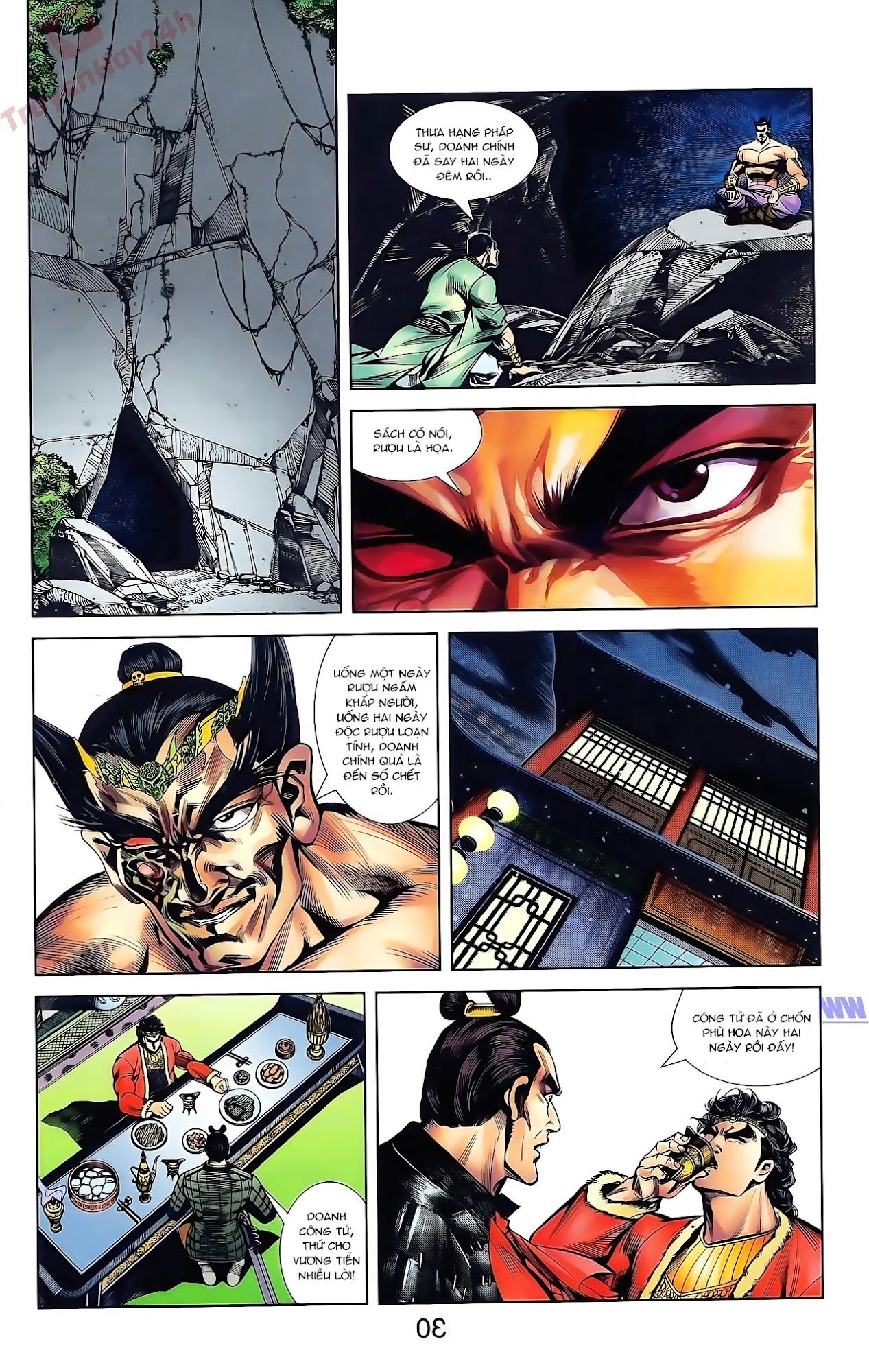 Tần Vương Doanh Chính chapter 43 trang 2
