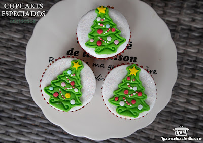 Cupcakes Especiados Navideños