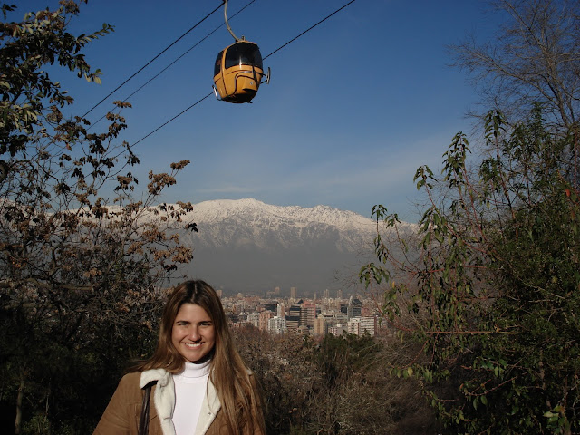 Teleférico do Cerro San Cristóbal.
