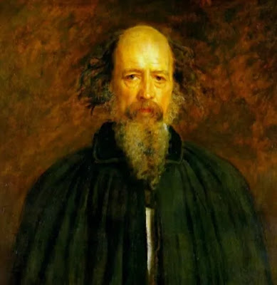 Alfred Lord Tennyson born on August 6, 1809 in the Lincolnshire rectory of Somersby