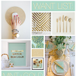 Through the Front Door: Want List: Mint + Gold