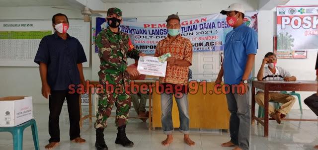 BLT DD Tahap Ketiga Tahun 2021 Desa Seuneubok Aceh