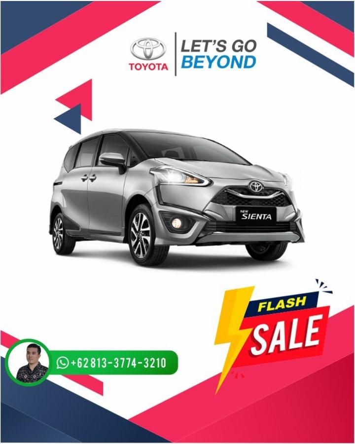 Harga Promo Toyota Sienta Bali