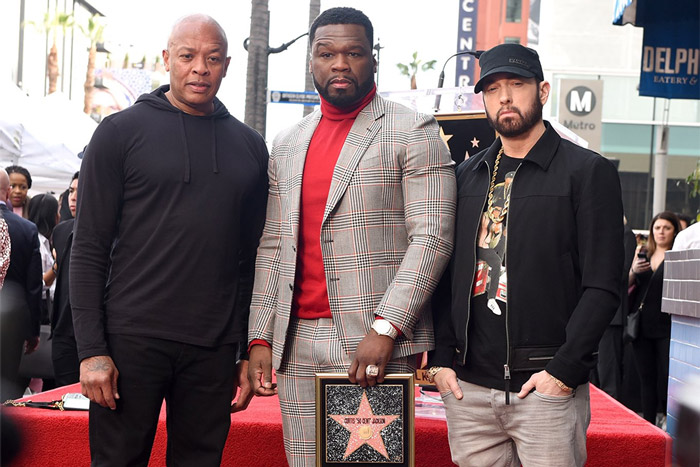 50 Cent Gets a Star on Hollywood Walk of Fame
